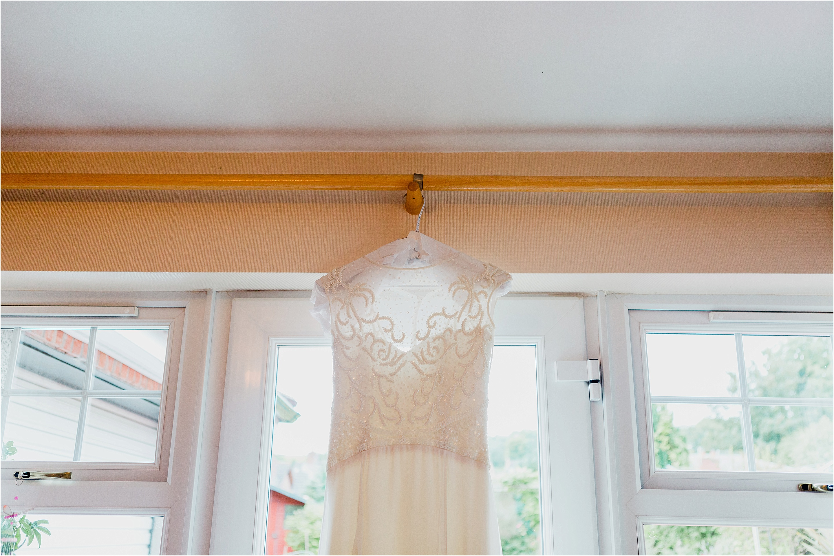 wedding dress, ballygally wedding