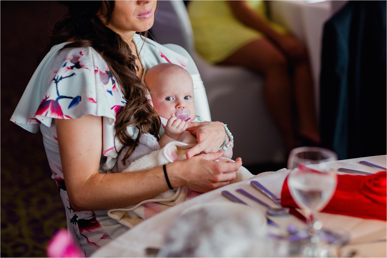 baby wedding guest