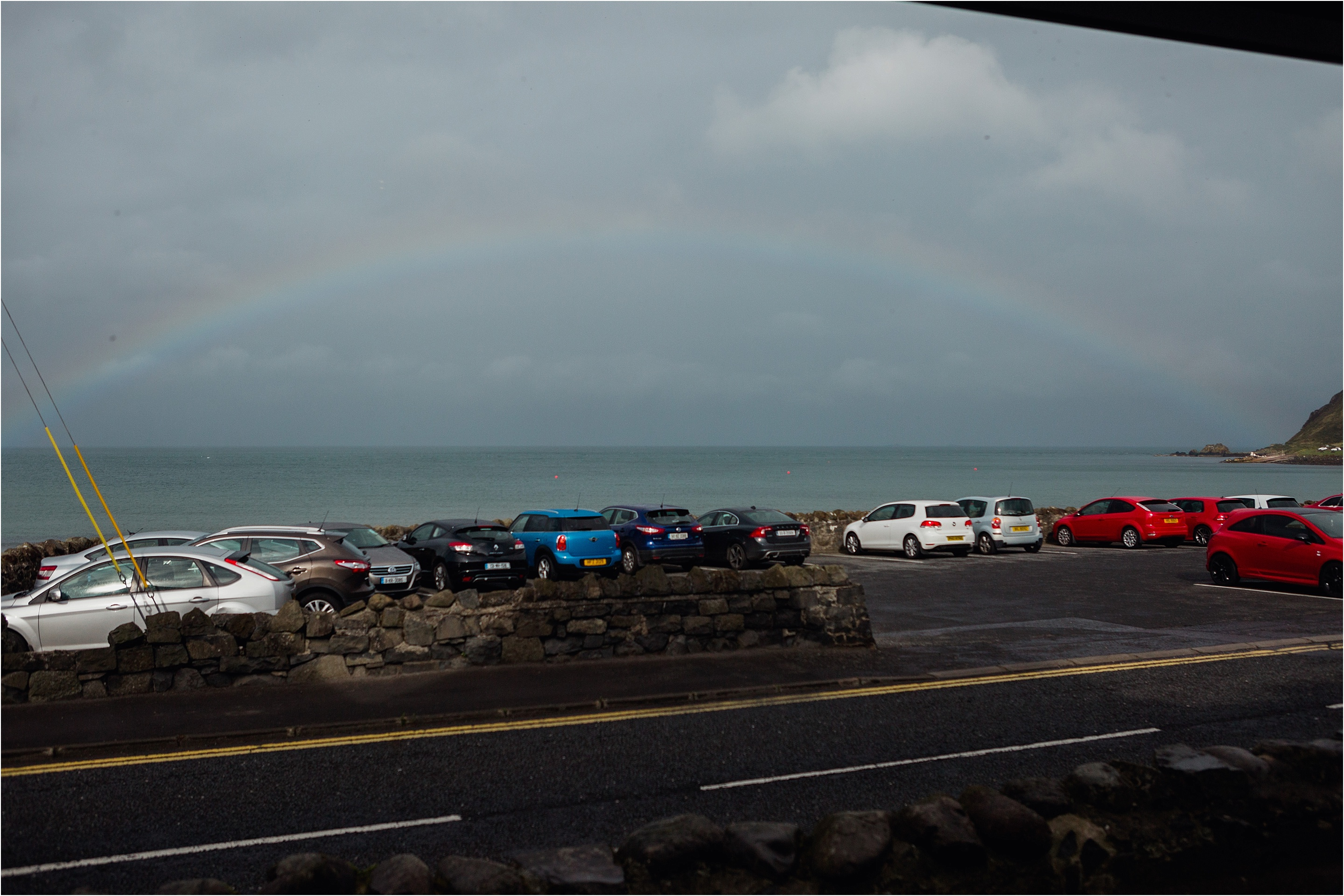 rainbow over ballygally