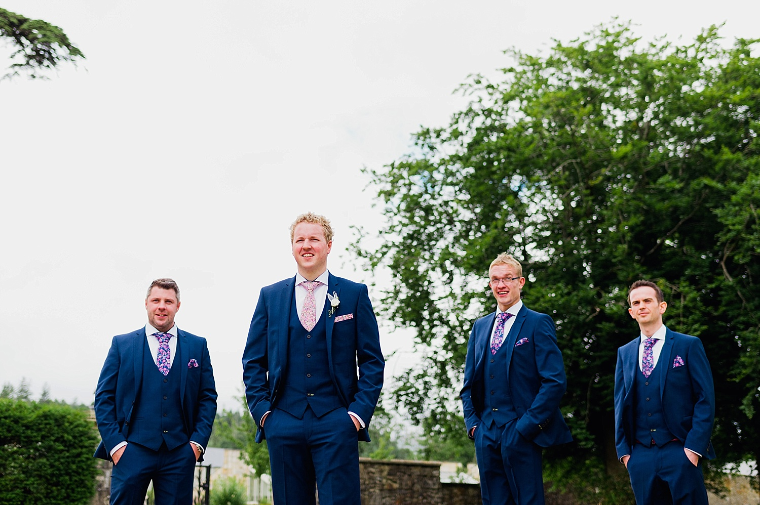 groomsmen lough eske wedding