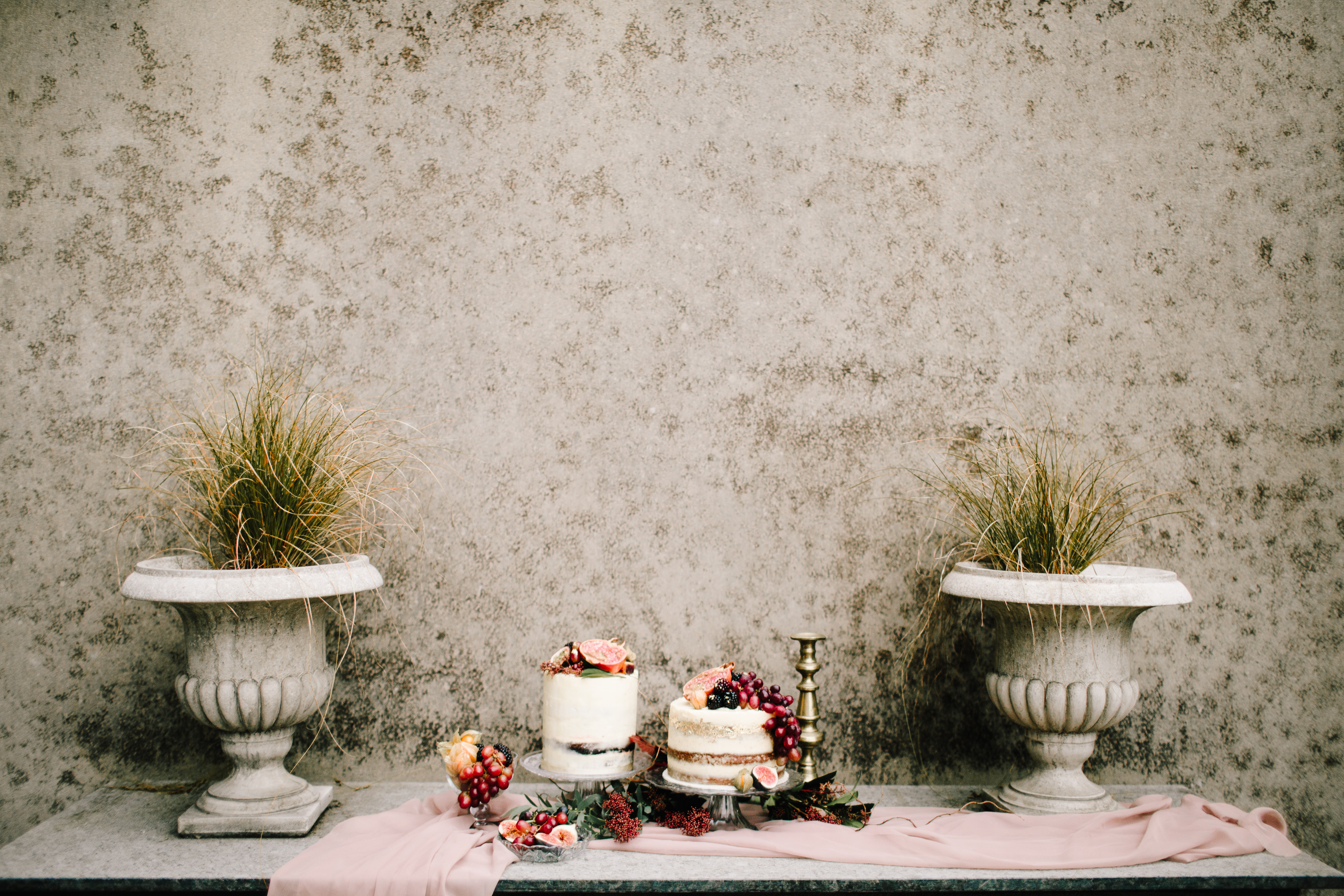 wedding cake autumn