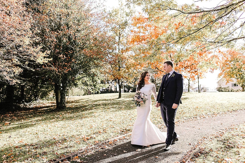 irish fall wedding