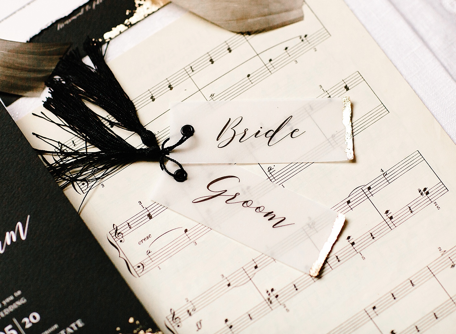 bride and groom place names